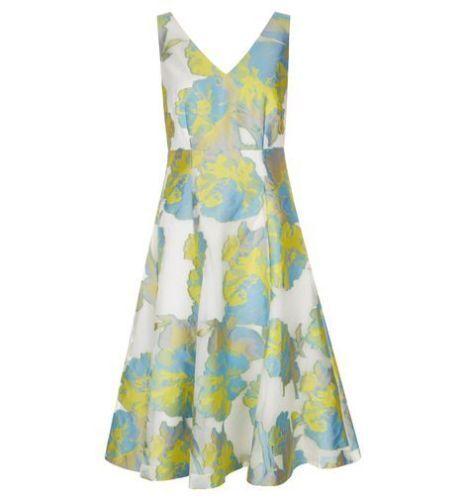 Hobbs Taryn Ivory Multi Dress. Various Sizes. RRP .