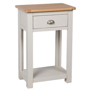 telephone console table. image is loading sutton-grey-painted-small-console-table-oak-hallway- telephone console table g