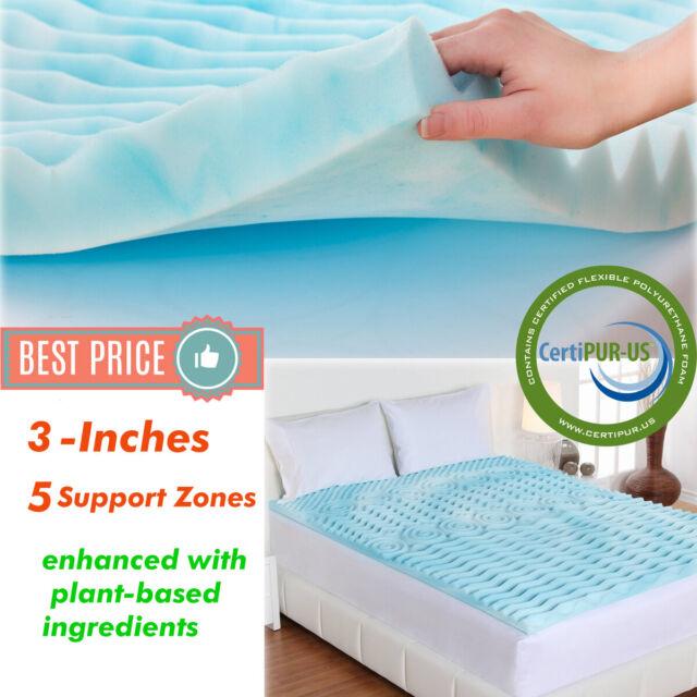 Buy Sealy Performance 3 Inch Cooling Gel Memory Foam Mattress
