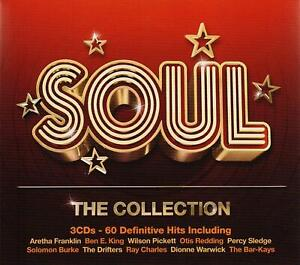 SOUL-THE-COLLECTION-2012-60-track-3-CD-NEW-SEALED-Aretha-Franklin