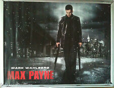 Cinema Poster: MAX PAYNE 2008 (Main Quad) Mark Wahlberg Mila Kunis Beau Bridges