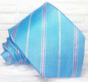 Cravatta-Regimental-blu-azzurro-Made-in-Italy-100-seta-busines-evento-informale