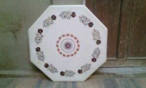 30-034-white-marble-table-top-coffee-center-inlay-lapis-pietra-dura-room-w114