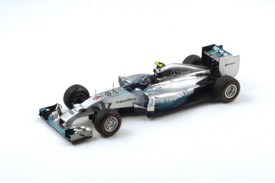 Spark Mercedes F1 W05 #6 Rosberg Winner Monaco GP GP GP 2014 1/18 | Aspect Attrayant  | 2019  | De Nouveau Modèle  ce7edc