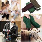 Fashion Unisex Men Women Knitted Fingerless Winter Gloves Soft Warm Mitten Vogue