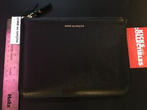 69523929f4f615 Image is loading Comme-des-Garcons-Black-LUXURY-GROUP-Wallet-Purse-