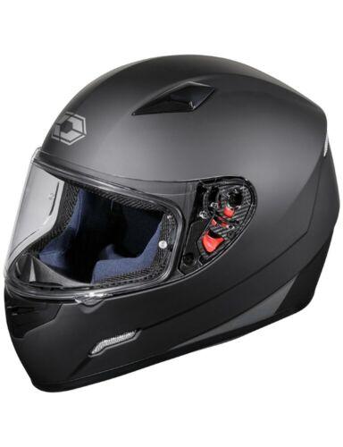Castle Mugello Full Face Helmet Matte Black