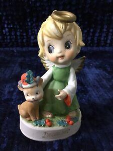 Napcoware-December-Angel-With-Reindeer
