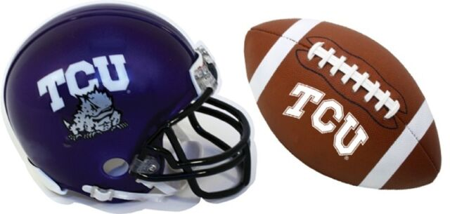 TEXAS CHRISTIAN HORNED FROGS MAGNET 2 PC SET-TCU HELMET ...