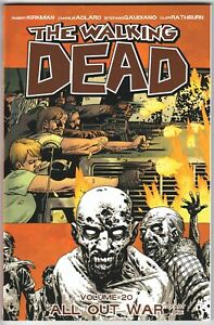The-Walking-Dead-TPB-Vol-20-All-Out-War-Part-One-Image-Comics-New-NM
