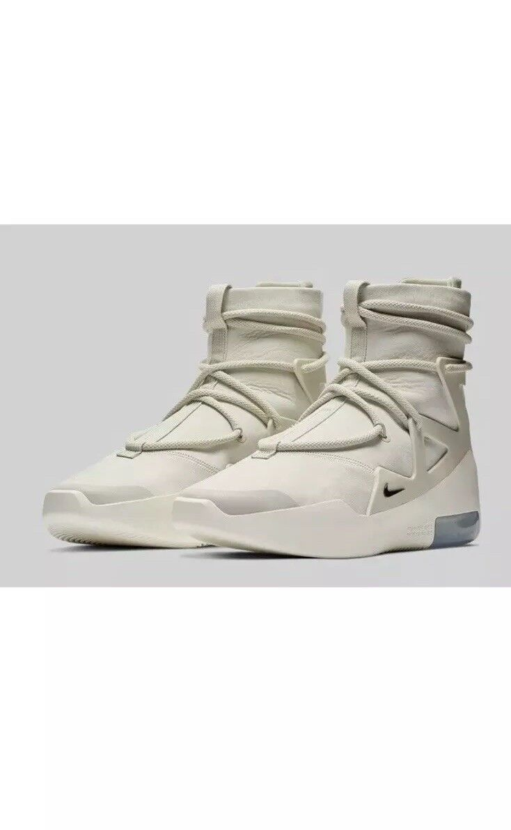 sneakers for cheap 75147 5bc8e Nike Air Fear Of God 1 Light Bone 9.5 READY TO SHIP CONFIRMED Size  nowsmk3671-Athletic Shoes - beach.mbrooksfit.com