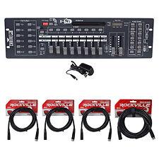 Chauvet DJ Obey 40 D-Fi 2.4 Wireless DMX Controller D-Fi & MIDI + (4) DMX Cables