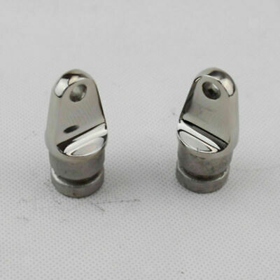 "2x Eye End 7//8/"" Bimini Canopy Hardware Fittings Marine 316 Stainless Steel"