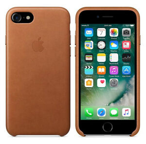 Original-Apple-Case-iPhone-7-8-Leder-Handy-Huelle-Cover-OVP-Sattle-Brown-Braun