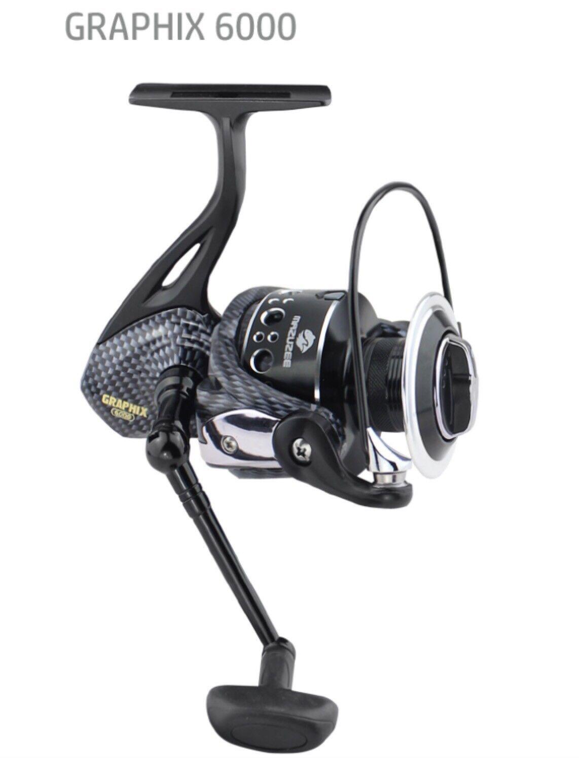 GRAPHIX 6000 Spining Fishing Fishing Fishing Reel BR Bite N Run Freespool d5ba5f