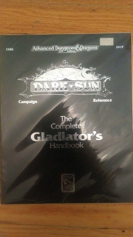 Dungeons and drakes -- Den kompletta gladiatorns Handbok - NM  VF SOM NY