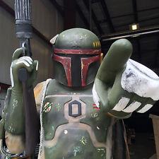 Life Size Boba bounty  Hunter Statue Darth C3po R2D2  Similar to Boba Skywalker