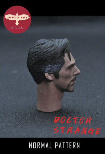 JUST A TOY 1//6th Soldier Male Head Sculpt Meditation Doctor Strange Closed Eyes