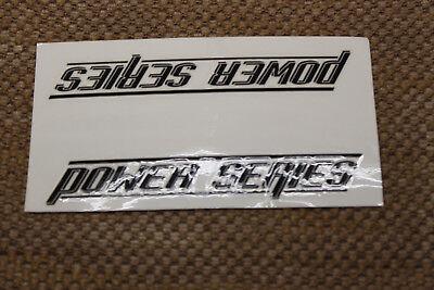 NOS OLD MID SCHOOL BMX GT POWER SERIES BOTTOM TUBE STICKER DECAL