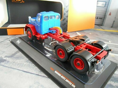 MAGIRUS DEUTZ Jupiter 6x6 blau blue Zugmaschine Truck LKW Camion NEU IXO 1:43