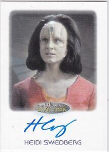 VL STAR TREK DISCOVERY Autograph Katherine Barrell as Stella