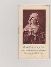 ALMANACH RELIGIEUX ANNEE 1939 / CALENDRIER ET IMAGE PIEUSE CORRESPONDANT AU MOIS