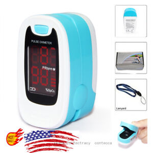 Finger Pulse Oximeter Blood Oxygen Meter Sensor Portable Heart Rate SPO2 Monitor