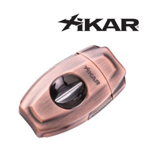 NEW-Xikar-VX2-Vintage-Bronze-V-Cut-Cigar-Cutter
