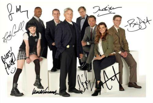 NCIS Cast Multi Signed Autograph PRINT 6x4/' Gift