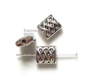 10-Intercalaires-spacer-RECTANGLE-10x9x4mm-Perles-apprets-crea-bijoux-A159