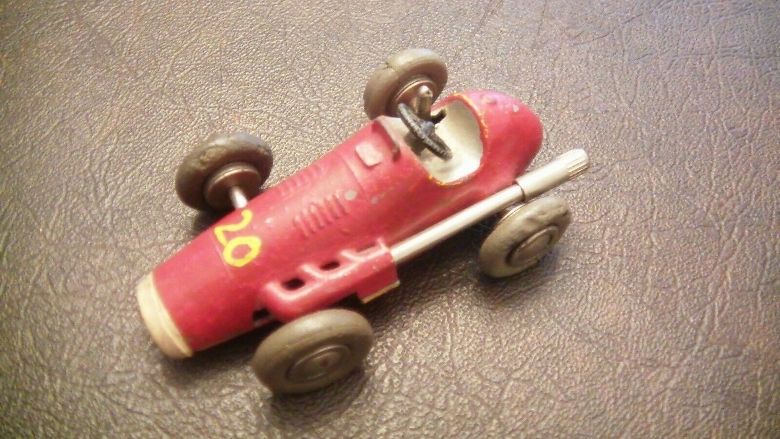 Schuco Micro Racer - Nice Red old toy