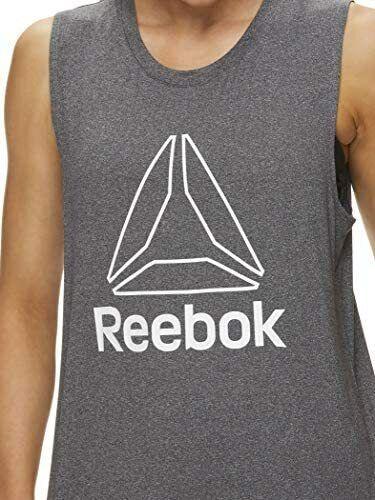 Reebok Women's Muscle Tank Top - Ladies Moisture Wicking Activewear & Workout