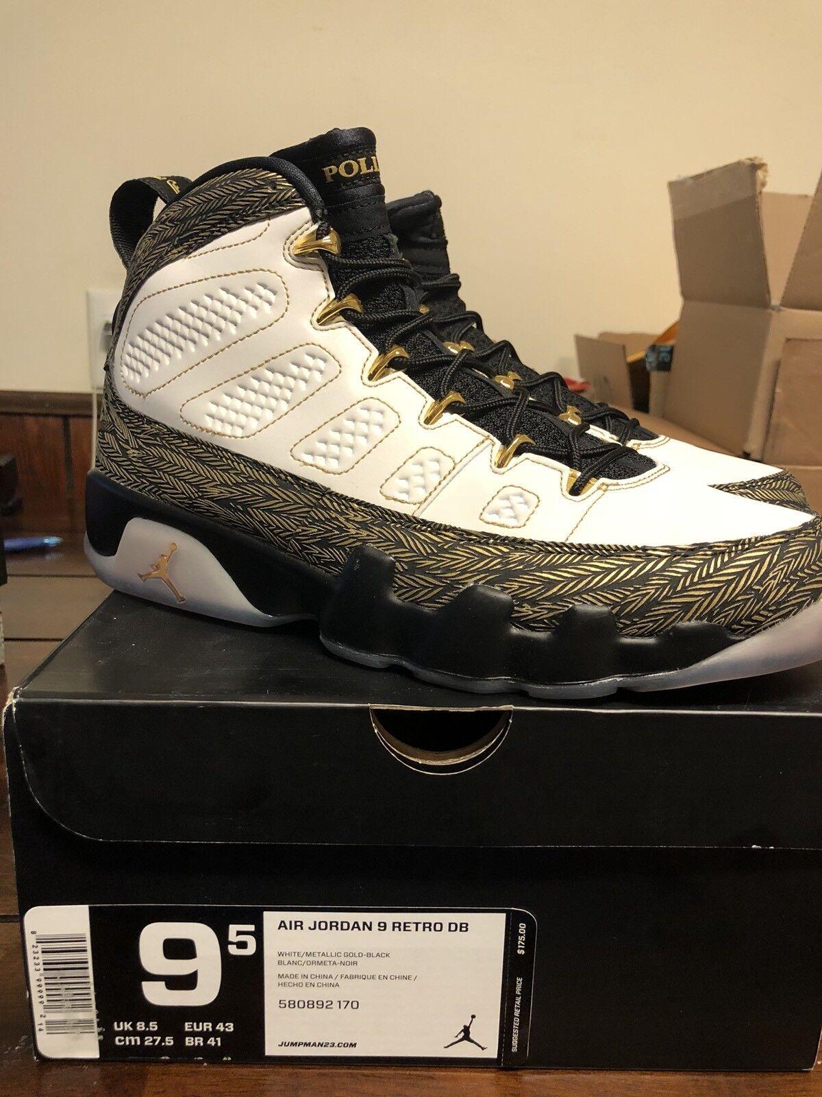 Nike Air Jordan IX 9 Retro DB Doernbecher 580892-170 Size 9.5 New Authentic