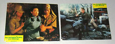 (Set of 4) attack force Z (Mel Gibson) German Original LOBBY CARD 80s