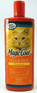 Four-Paws-Magic-Coat-Flea-And-Tick-Cat-Grooming-Shampoo-12Oz