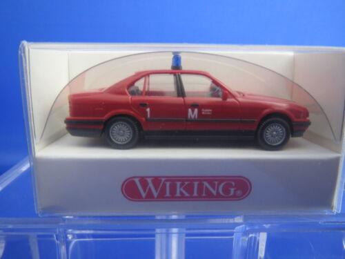 """WIKING 6000322  Feuerwehr ELW  /""""BMW 520 i/"""" rot 1:87  OVP !!"""