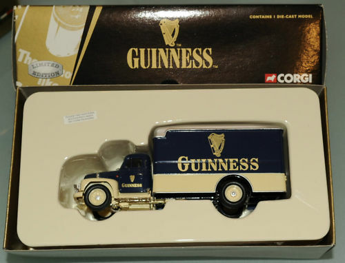 PRL  CORGI GUINNESS DIAMOND T 620 BOX VAN 1:50 LIMITED EDITION EDIZ. NUMERATA