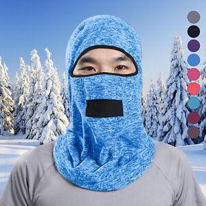 New Balaclava Face Mask Thermal Winter Fleece Windproof Ski Mask for Men /& Women