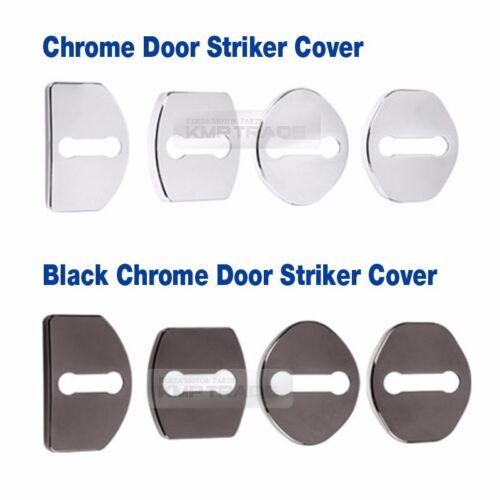 Door Striker Cover Hook Trim Chrome Molding for SSANGYONG 2005-2011 Kyron