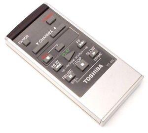 Genuine-Original-Toshiba-VC51S-TV-VCR-Remote-Control