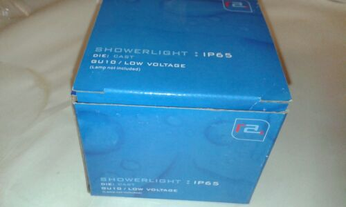 7 x Red Arrow IP65 Showerlight Down light For LOW VOLTAGE Lamps  LF14-1//  WHITE