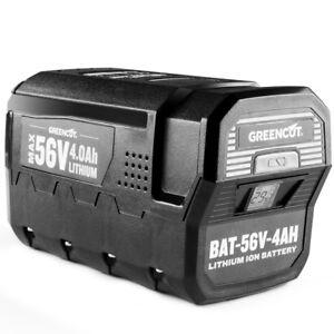 Batterie au lithium 4.0Ah pour outils de jardin GREENCUT 56V MAX