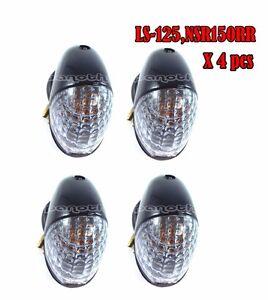 Nova Dash 125 turn signal light Turn light 4Pcs Motorcycle Electrical & Ignition Parts Honda NSR150SP,NSR150RR,LS125
