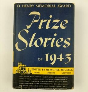 Prize-Stories-Of-1943-Edited-Herschel-Brickell-Book-Club-Edition-Hardcover