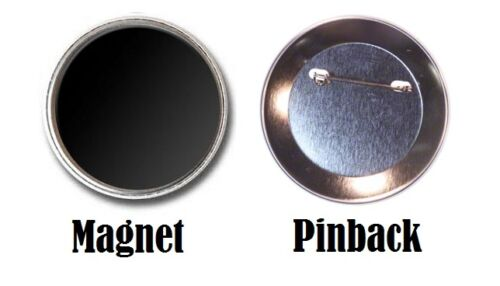 """Thomas Gibson Pinback Buttons or Fridge Magnets Set Of 4 LARGE 2.25/"""" Size"""