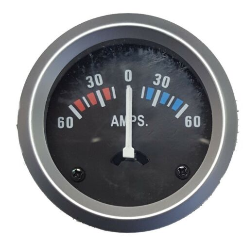 12 Volt Amperemeter Ladekontrolle Ampermeter Batterie Bootsanzeige