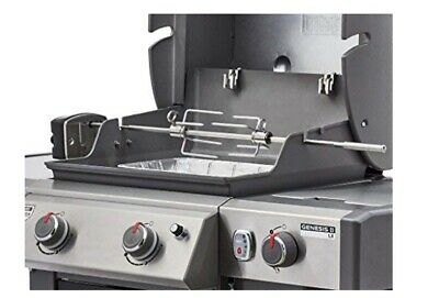Weber 7652 Rotisserie for Use with Genesis II /& II LX 2 /& 3 Burner 300 Series Grills
