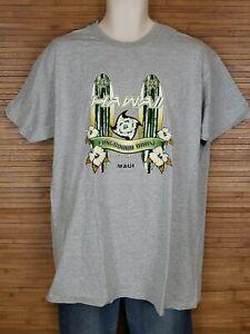 Longboard-House-Surf-Shop-Maui-Hawaii-Graphic-T-Shirt-Mens-Size-XL