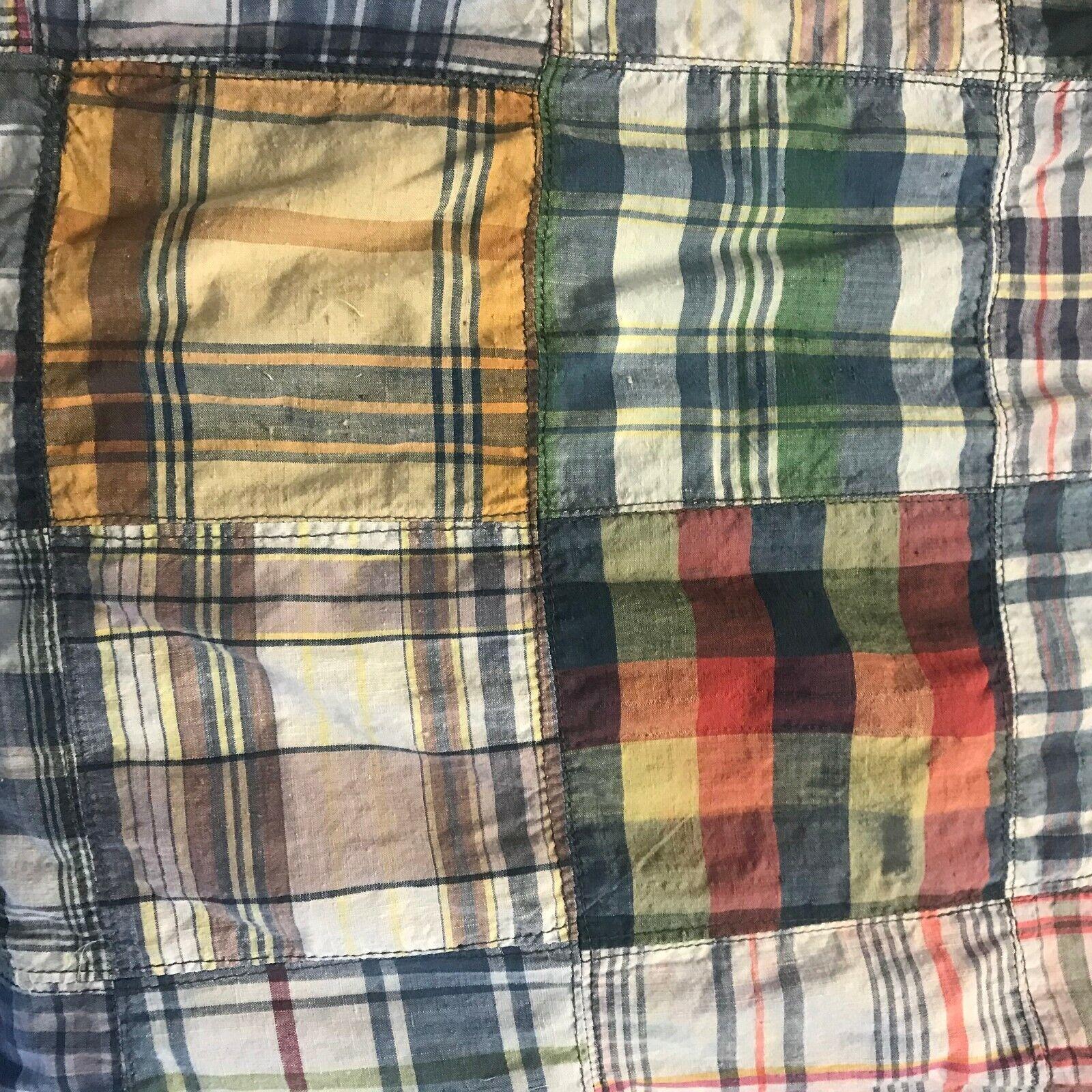Vtg 60s Young Edwardian Arpeja 5 Denim Plaid Patc… - image 9