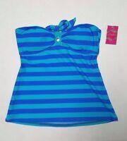 Candies Tankini Size Juniors Blue Padded Swimwear Top No Straps Free Ship S222